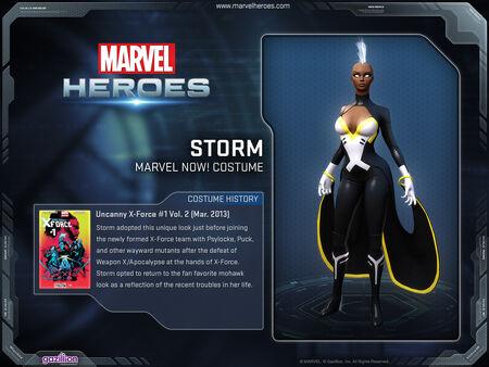 Costume storm marvelnow