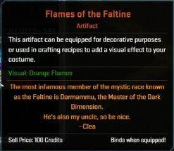 Flames of Faltine