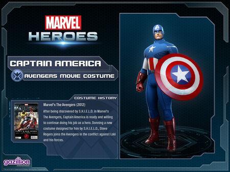 Costume captainamerica movie