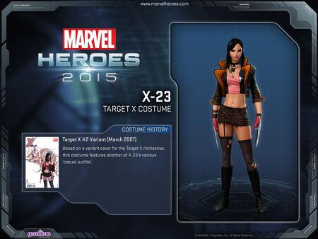 Costume x23 targetX