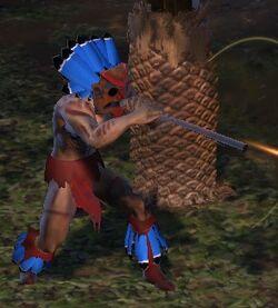 Character - Cliffwalker Tribe Hunter