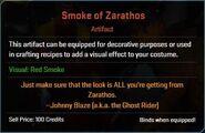 Smoke of Zarathos Descr