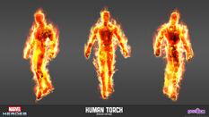 Human Torch Modern Model