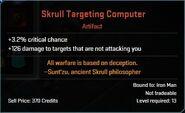 Skrull Targeting Computer Descr