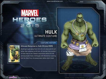 Costume hulk Ultimate
