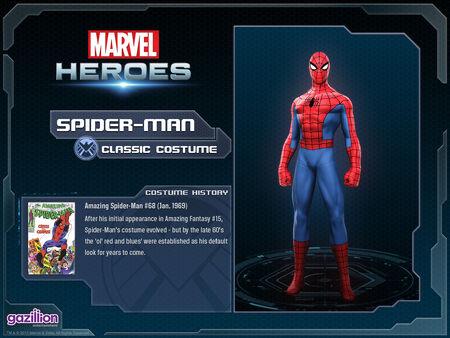 Costume spiderman classic