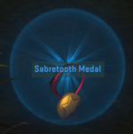 Equipment-Medal- Medal - Sabretooth