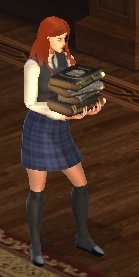 Character - Student (Female - Books)