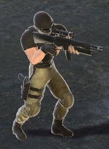 Character - Mercenary Marksman