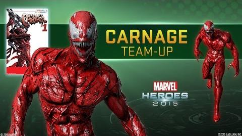 """Carnage Team-Up - Marvel Heroes 2015 - Featuring """"Carnage Rules"""" by Green Jelly"""