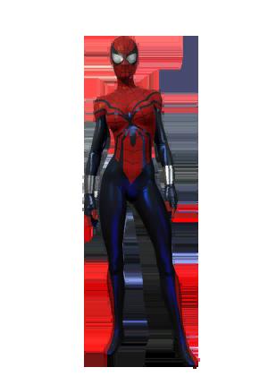 F spiderman spidergirl