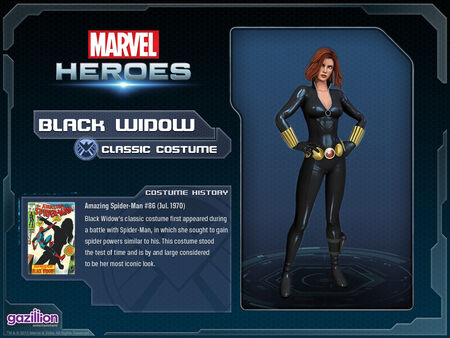 Costume blackwidow classic 2016