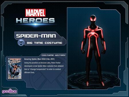 Costume spiderman bigtime
