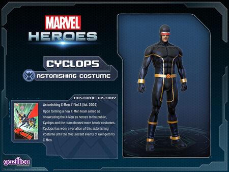 Costume cyclops astonishing