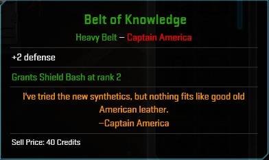Equipment-Belts-Belt of Knowledge (Captain America 2)