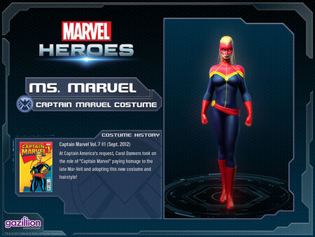 Costume msmarvel captainmarvel