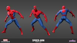 Spiderman Classic Model