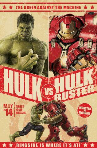 File:AoU Hulk-Hulkbuster showdown promoad.jpg