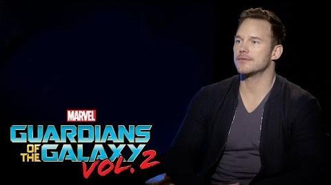 Chris Pratt on Marvel Studios' Guardians of the Galaxy Vol. 2