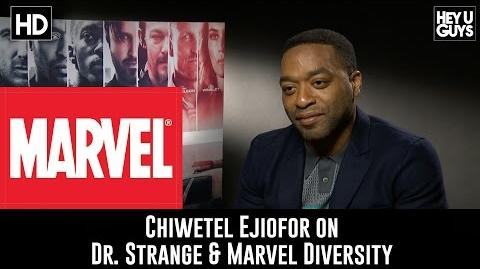Chiwetel Ejiofor on Marvel's Dr