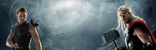 File:Avengers HawkThor banner.jpg
