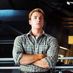 Steve Rogers aboard the Helicarrier