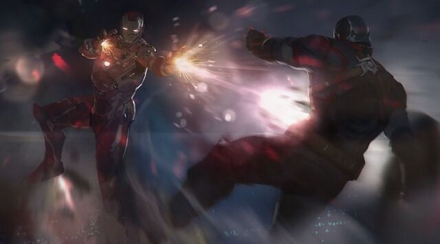 File:Captain America Civil War Iron Man vs Captain America Concept Art.JPG