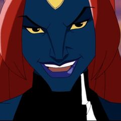 Mystique reveals herself.