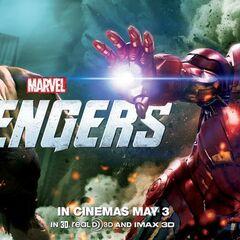 Iron Man and Hulk banner.