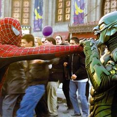 The Green Goblin and Spider-Man's first encounter. <a href=