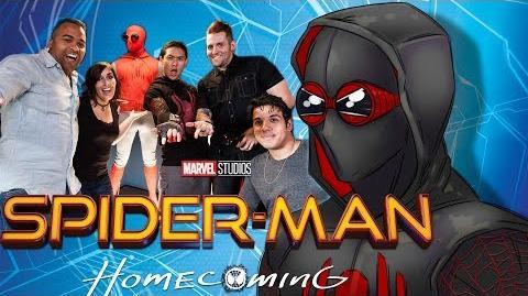 UNDERDOG COSTUMES SPIDER-MAN DIY w Adam!