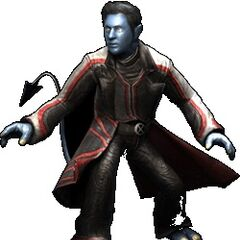 Nightcrawler from <i>X-Men: The Official Game</i>.