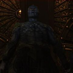 Laufey comes to Asgard.