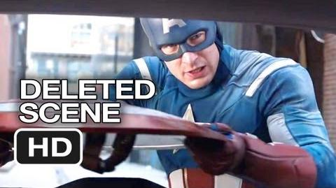 The Avengers Deleted Scene - Cap Saves A Family (2012) - Robert Downey Jr