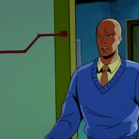 Charles Xavier when he was a student.