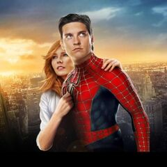Spider-Man 3 Banner featuring Peter & MJ.