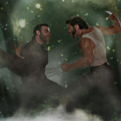Wolverine fights with Victor Creed