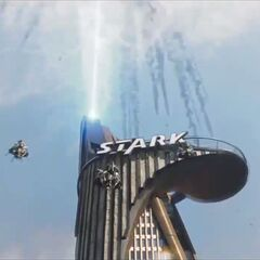 The Chitauri near Stark Tower.