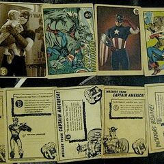 Coulson's Vintage Captain America card set 2