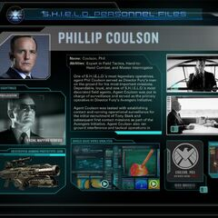 The Avengers Initiative: Coulson Bio.
