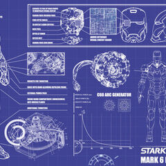 Iron Man Blueprints.