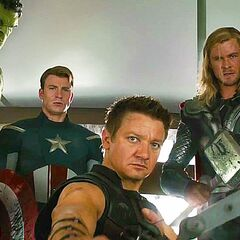 The Avengers After Defeating Loki