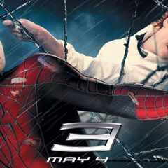 Spider-Man 3 banner featuring Peter & Mary Jane.