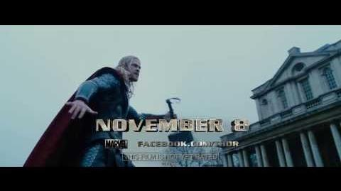 Marvel's Thor The Dark World - TV Spot 3-0