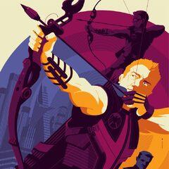 Mondo Hawkeye poster.