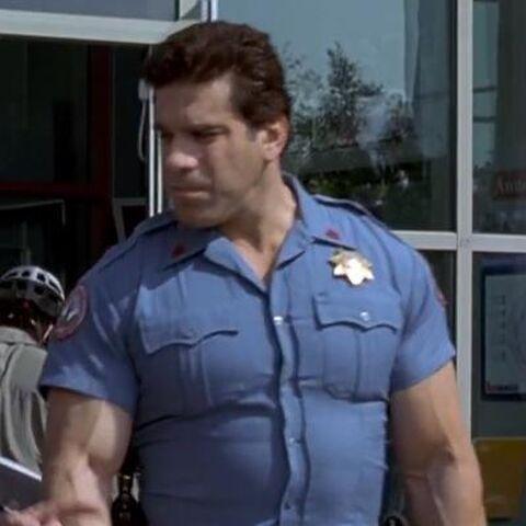 Security Guard in <i>Hulk</i> (2003).