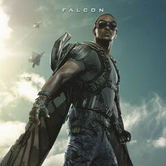 <i>Captain America: The Winter Soldier</i> poster featuring Falcon.