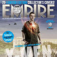 Havok on the cover of <i>Empire</i>.