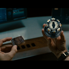 Tony's Mark 3 palladium Arc Reactor.