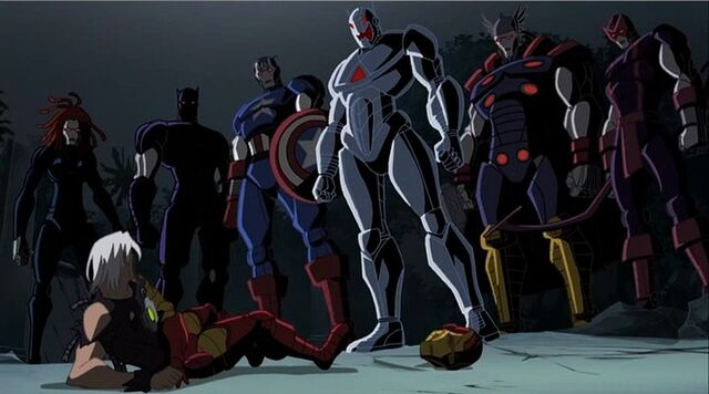 File:Iron Avengers with Ultron.jpg